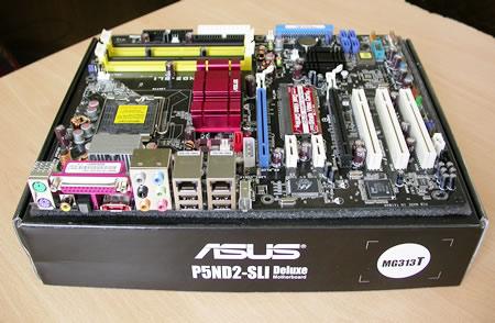 asus p5nd2 sli deluxe rh cdrinfo com Asus A8N-SLI Motherboard Drivers Asus SLI Bridge Connector Install