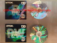 DVD-RW Video Media