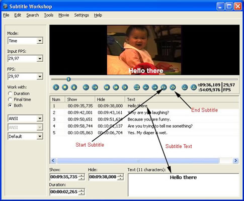 Subtitle workshop edit subtitle