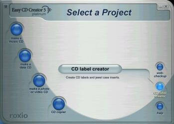 CD label Creator - Click to enlarge