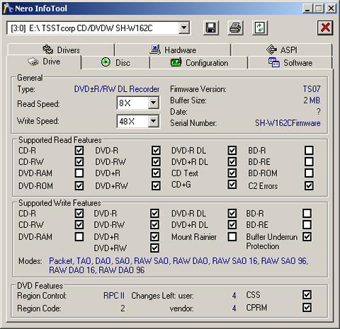 CD DVDW SH W162C WINDOWS 7 X64 DRIVER DOWNLOAD