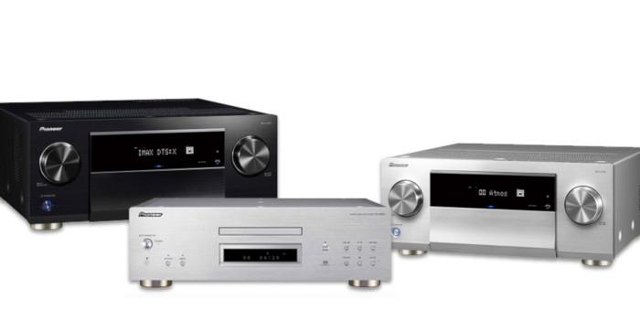 Pioneer Presents New range of Headphones and AV Receivers at