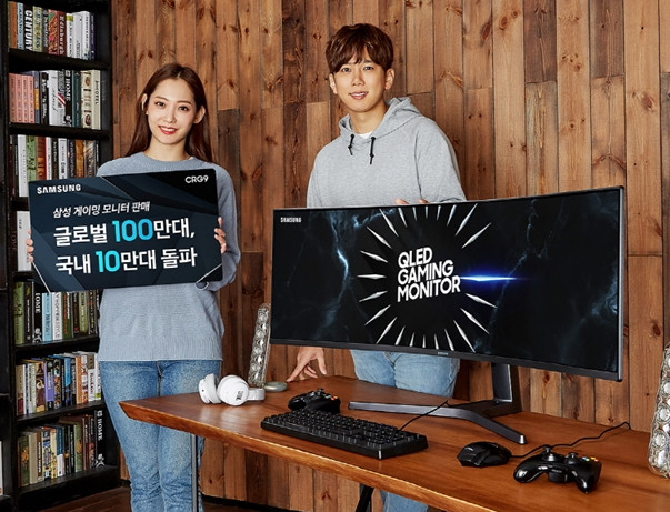 Samsung's 5K CRG9 Gaming Monitor Launches in South Korea