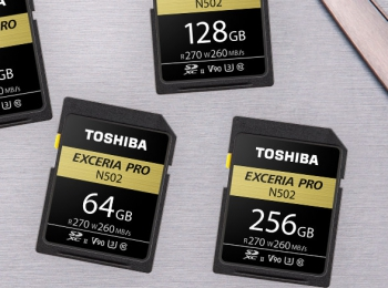 Toshiba ExceriaPro N502 256GB SDXC UHS-II review