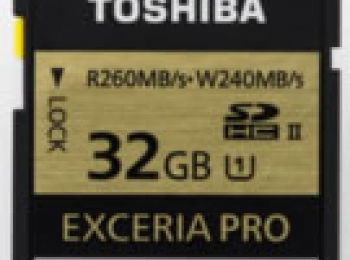 Toshiba Exceria Pro 32GB UHS II SD card review