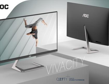 AOC's Q27T1 Monitor – Design by Studio F. A. Porsche Hits the Stores