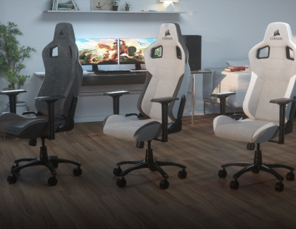 CORSAIR Launches T3 RUSH Gaming Chair