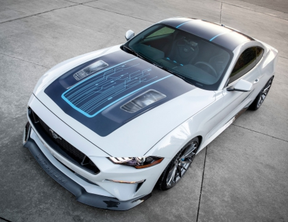 Ford Unveils the 900hp Mustang 'Lithium' Electric Muscle Car
