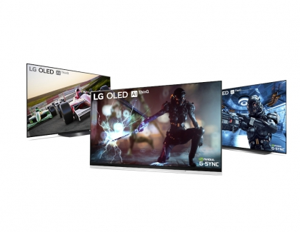 LG OLED TVs to Receive Nvidia G-SYNC Upgrade
