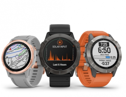 New Garmin fēnix 6 Series of Smartwatches Harnesses The Sun
