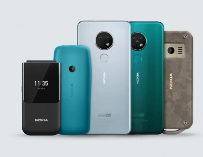 IFA 2019: HMD Global Revives the Nokia Flip-Phone, Announces the Nokia 7.2 and the Nokia 6.2