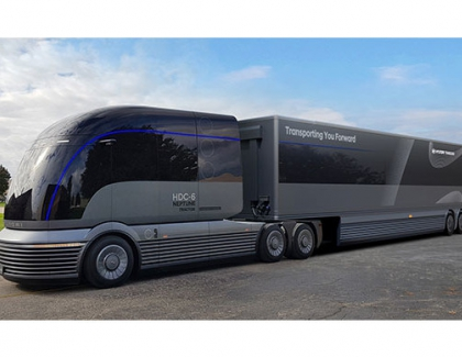 Hyundai Debuts the HDC-6 NEPTUNE Concept, a Hydrogen-powered Class 8 Truck at NACV Show