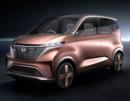 Nissan Unveils the IMk Concept EV for Urban Commuters
