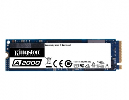 Kingston Introduces the Entry-level A2000 NVMe PCIe SSD