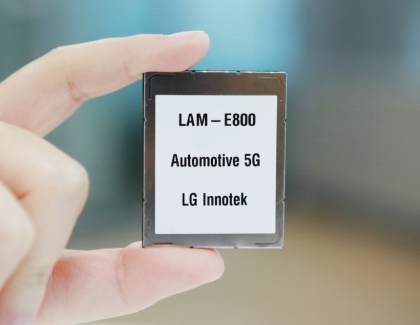 LG Innotek Unveils 5G Communication Module for Autonomous Cars