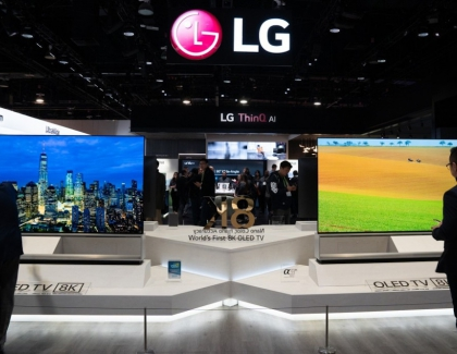 New LG Electronics Chief Set to Declare 8K TV War to Rival Samsung