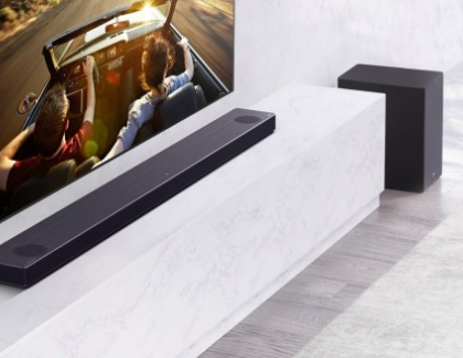 LG's 2020 Soundbar Range Features Expanded Models with Meridian High-Resolution Audio