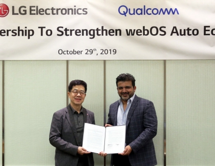LG and Qualcom to Create webOS-based Automotive Infotainment Platform