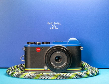 Leica Launches the CL 'Edition Paul Smith'