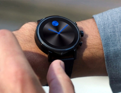 Movado Connect 2.0 Smartwatch Features a Heart Rate Monitor