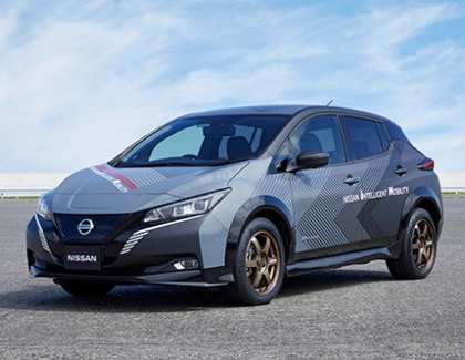 Nissan Builds EV Test Car With Twin-motor All-wheel Control Technology