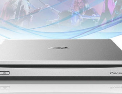 Pioneer BDR-XS07JL Portable Blu-ray Disc Burner Launching in Japan