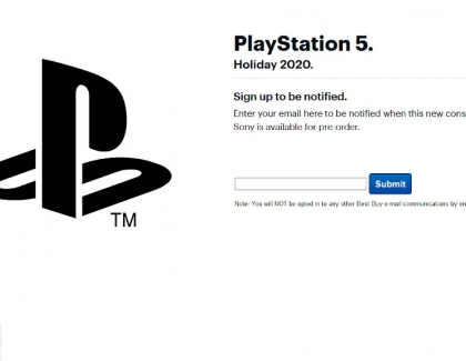 Retailers to Notify You When Pre-orders of Sony PlayStation 5 Go Live
