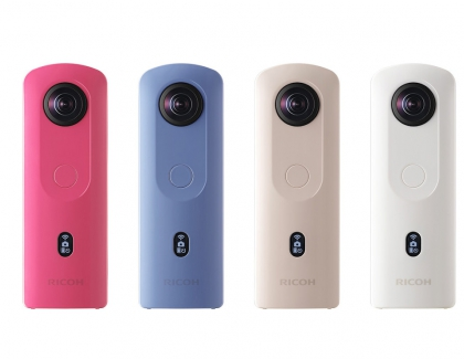 RICOH THETA SC2 Camera Can shoot 360-degree Spherical Images in a Single Shot