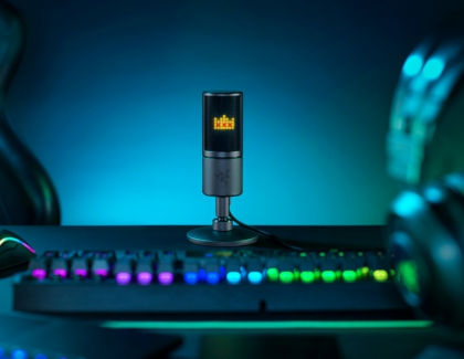 Razer Seiren Emote Microphone Features Interactive Emoticons for Streamers
