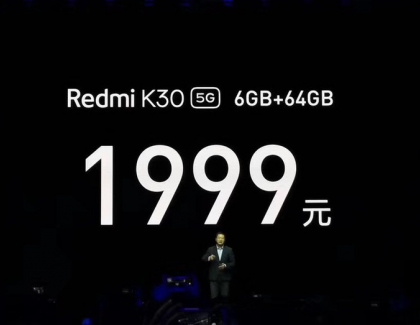 Xiaomi Unveils the Affordable Redmi K30 5G