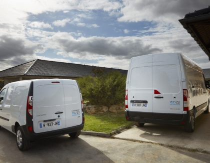 Groupe Renault Introduces Hydrogen Delivery Vans