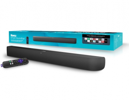 Roku Smart Soundbar and Roku Wireless Subwoofer Released