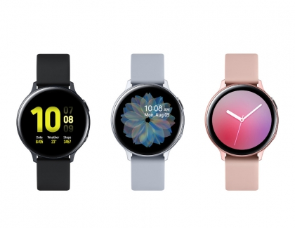 Samsung Galaxy Watch Active2 Comes With Updated Rotating Bezel and LTE Connectivity
