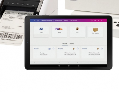 Samsung and Pitney Bowes Collaborate on Business Tablet Solution