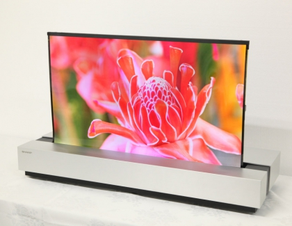 NHK and Sharp Develop 30-inch Rollable 4K OLED