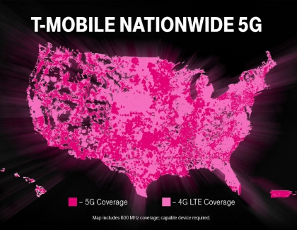 T-Mobile 5G Network is On