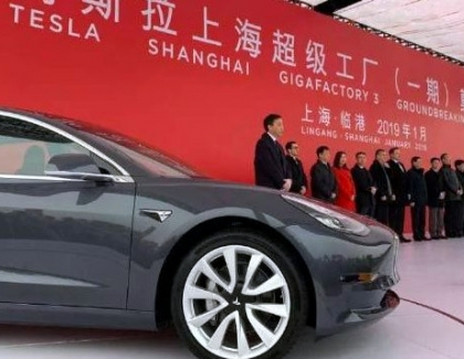 China Approves Tesla's Manufacturing Plan