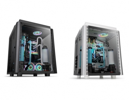 Thermaltake Releases the Level 20 HT/HT Snow Edition Full Tower Chassis