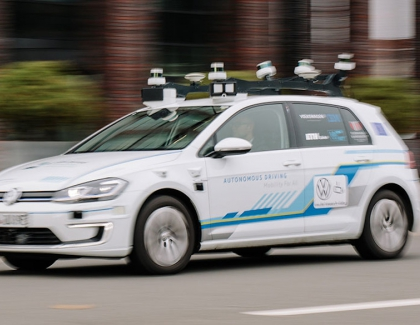 Volkswagen and IBM Are Researching Autonomous Driving in Urban Space