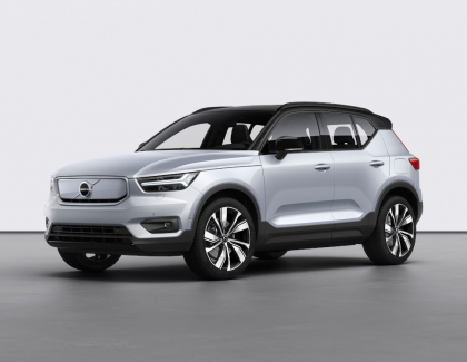 Volvo Launches Electric Volvo XC40 Recharge