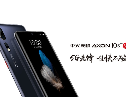 New ZTE 5G Axon 10s Pro Smartphone is Compatible with 5G SA and NSA Modes
