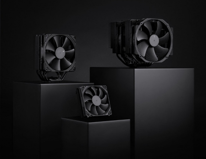 Noctua Introduces The Chromax.black CPU Coolers