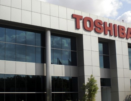Toshiba Reports Best Profit in Two Years