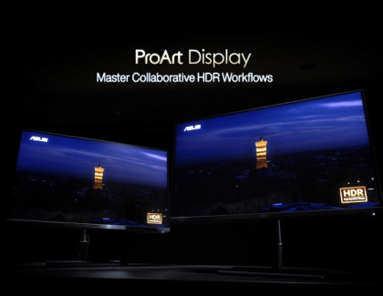 ASUS Unveils New ProArt PA32UCX-P and PA27UCX Displays
