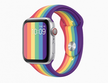 Apple Watch Nike Pride Edition Sport Band Released