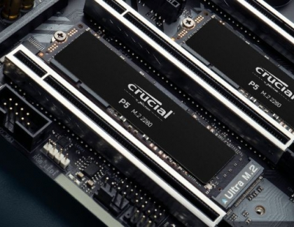 Micron Expands Crucial NVMe SSD Line With New Crucial P5 and P2 SSDs