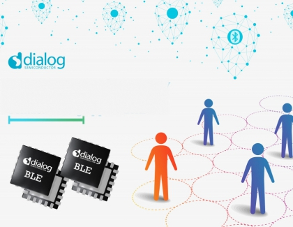 Dialog Semiconductor Adds New Features to Bluetooth SoCs to Enabling Highly Accurate Tracing