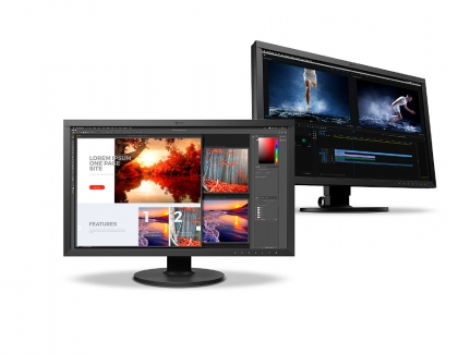 EIZO Releases 27-Inch Hardware Calibration Monitor with 4K UHD Resolution and USB Type-C Connectivity