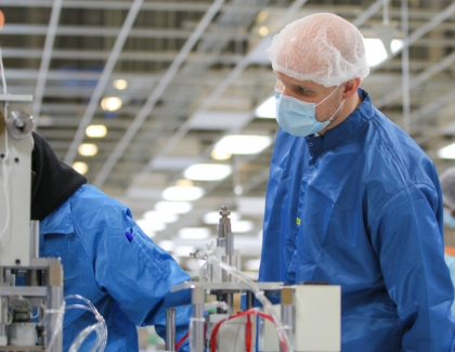 Foxconn to Assemble Procedural Masks in Wisconsin for Pandemic Relief