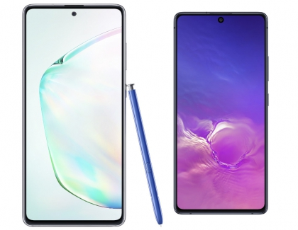 Samsung Introduces the Galaxy S10 Lite and Note10 Lite Smartphones